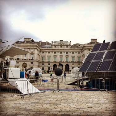 Renewable Recycling at Somerset House