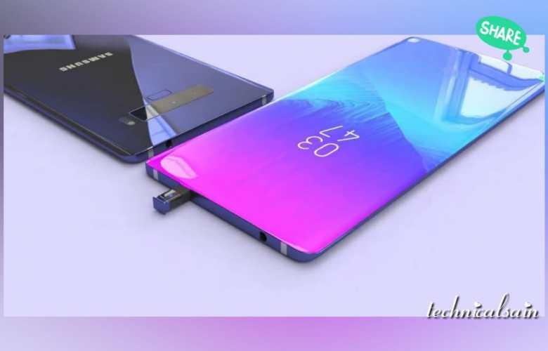 "Samsung note 10 ""keyless"" smartphone"