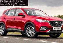 MG Electric SUVs In Pakistan