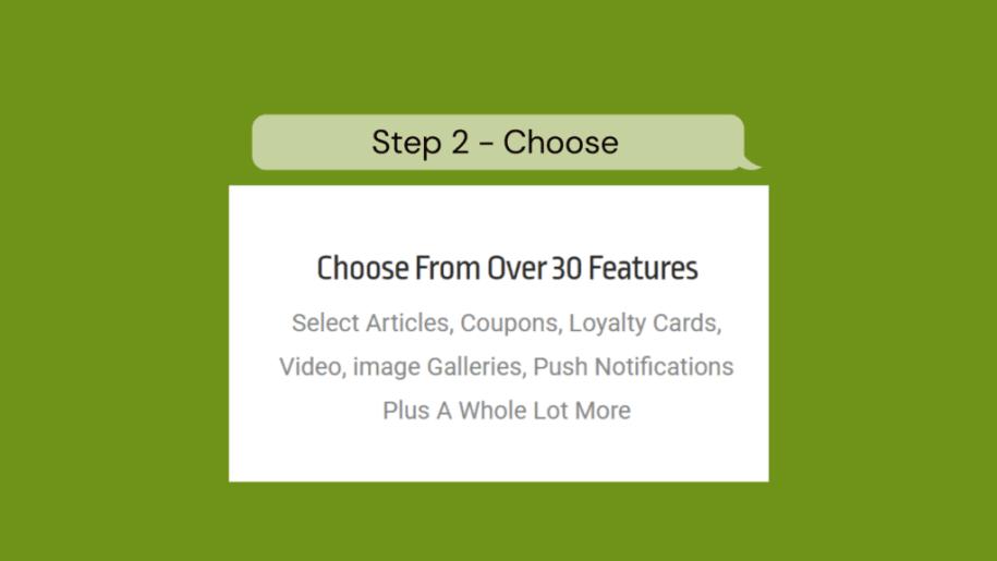 Step 2 - Choose