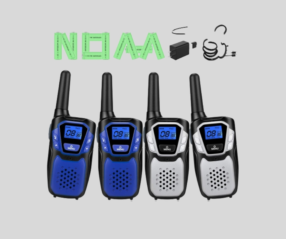 Walkie Talkies Rechargeable NOAA