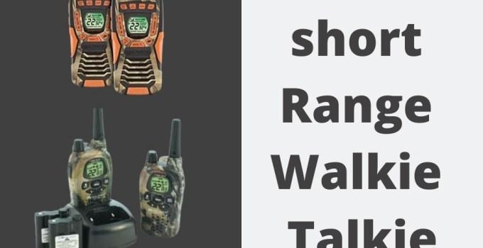 best short range walkie talkie
