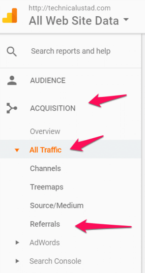 How to View Backlinks in Google Analytics