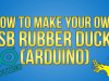 Make your own Rubber ducky USB