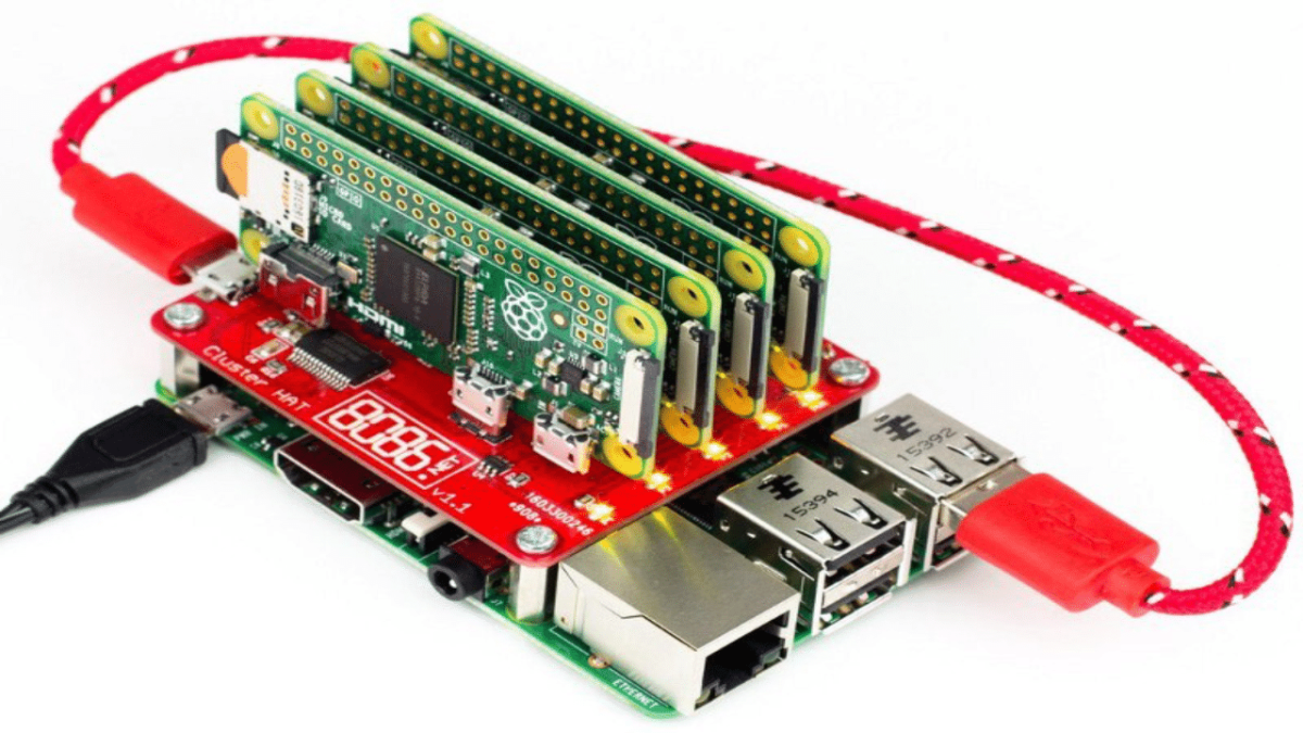 Build Super Computer with 5$ Raspberry pi zero using Cluster HAT