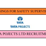 OPENINGS FOR SAFETY SUPERVISOR