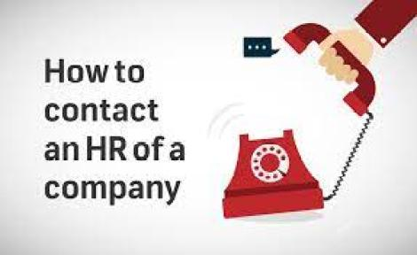 How to contact an HR of a company   Internshala blog