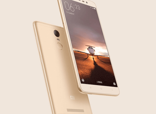 The Sparklingly Marvelous Xiaomi Redmi 3 Gold Features