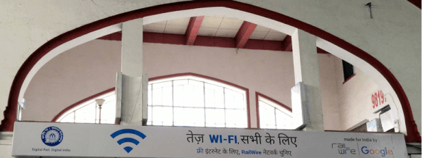 Mumbai Central - Railwire Free Wi-Fi