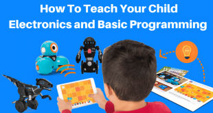 Teach your child electronics and basic programming with electronic kits