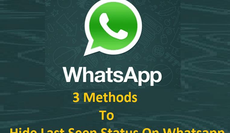 How to Hide Last Seen Status on Whatsapp and Freeze Whatsapp Last Seen