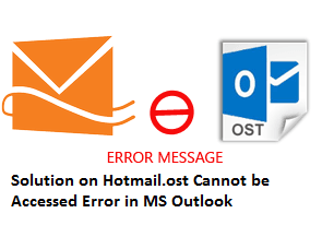 Solution - Hotmail.ost Cannot be Accessed Error in MS Outlook