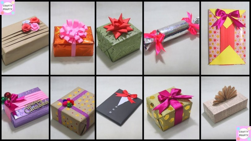 Creative and inexpensive gift wrapping ideas
