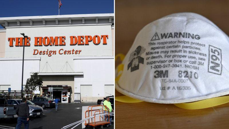 Home Depot Halts N95 Masks Sales online and in stores