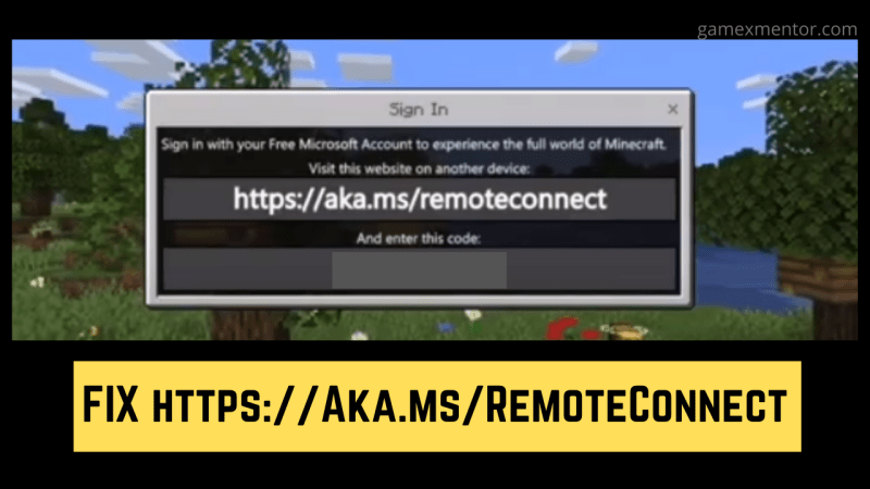 Https://Aka.Ms/RemoteConnect- Minecraft Remote Connect on Xbox, Playstation And Nintendo