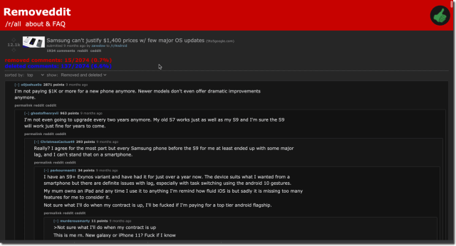 You Can Read Deleted Reddit Posts
