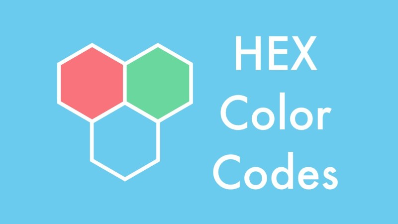 What is Hex Code Colours Function and How to Select Colours Without Using A Colour Picker
