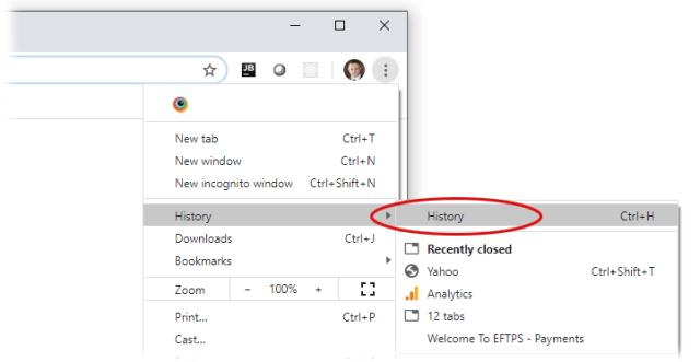 Restore Chrome Tabs