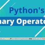 Ternary Operator in C