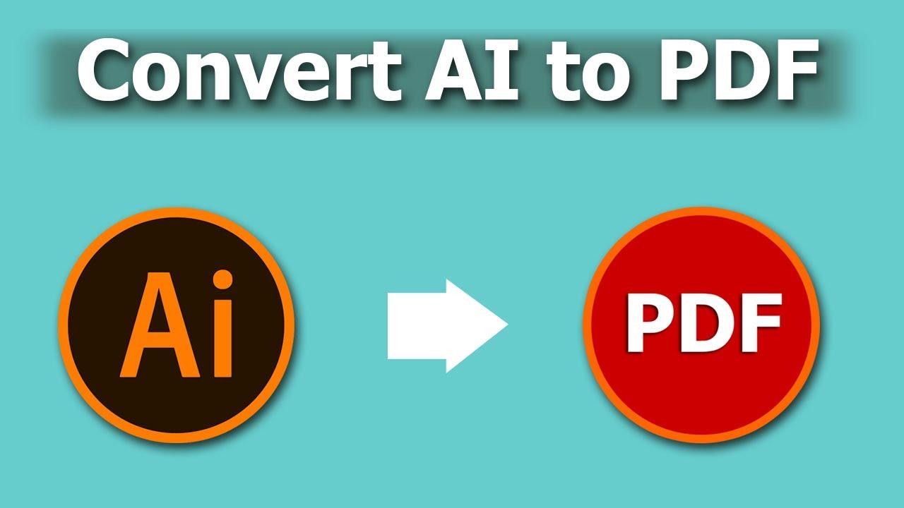 Best 3 ways to convert AI to PDF