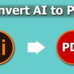 convert AI to PDF