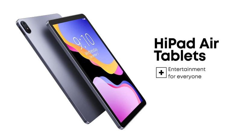 Chuwi HiPad Air full-screen tablet launches for $169 with Unisoc Tiger T618
