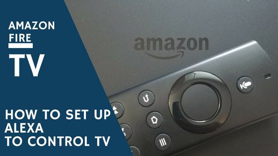 How to set up Alexa to control TV