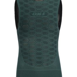 BASE LAYER 1 SLEEVELESS VERDE OLIVA Q36.5