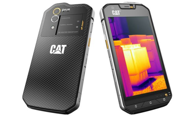 Caterpillar Unveils Android S60 With Thermal Camera