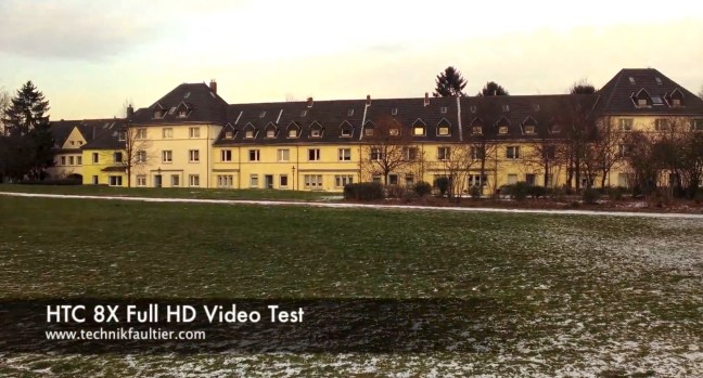 HTC 8X Full HD Video Test