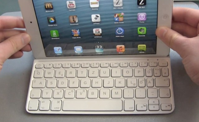 Logitech Ultrathin iPad Mini Test