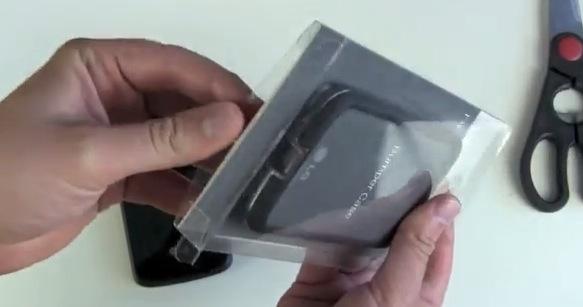 Nexus 4 Bumper Case Unboxing und erster Eindruck