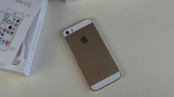 iPhone 5s Gold Unboxing und erster Eindruck