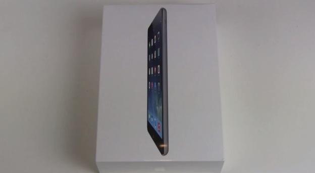 iPad Mini mit Retina Display Schwarz Unboxing und erster Eindruck