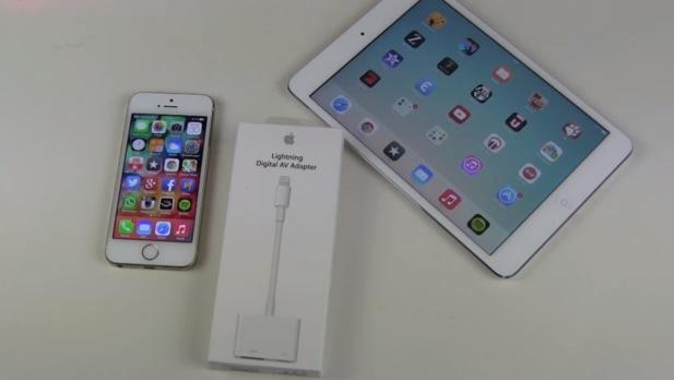 Apple Lightning auf HDMI Adapter Unboxing und kurzer Test
