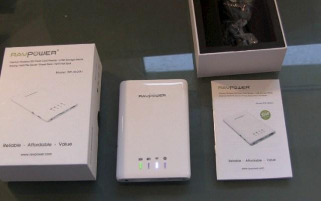 RAVPower 5-in-1 FileHub Wireless SD Kartenleser Unboxing