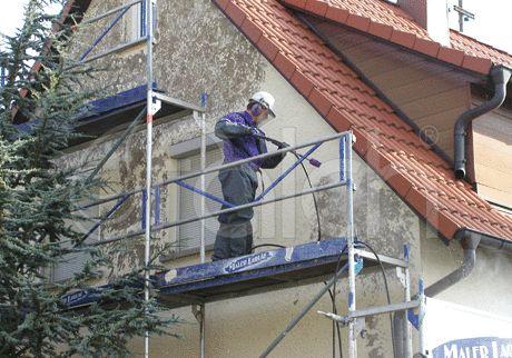 Čistenie fasády pomocou FALCH zariadení a príslušenstva