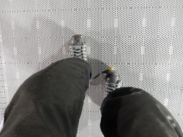 Décalage des patins