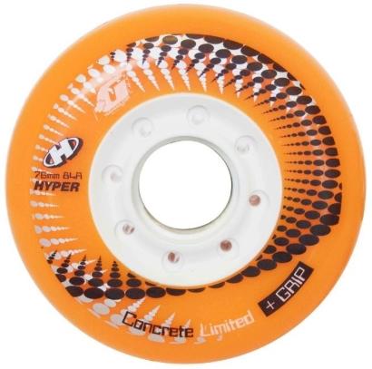 Concrete Limited + Grip 84A inline wheel
