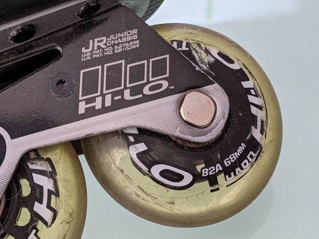 Comment choisir ses roues de roller hockey - Indication de dureté sur la roue