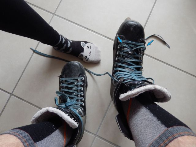 Comment lacer efficacement ses patins de hockey - Patin de roller hockey - Lacets pré-lacés