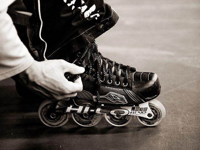 Patins de roller-hockey Mission - Photo par Photo par O. Luzzi