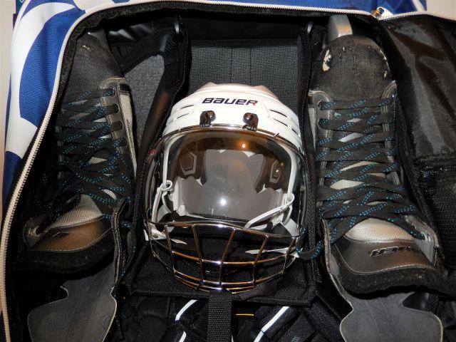 Sac de hockey Grit Tower Bag - Intérieur - Etage patins et casque