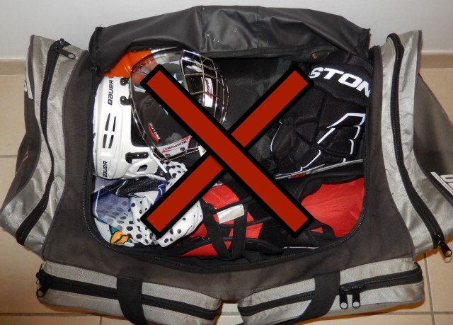 Sac de hockey Grit Tower Bag - Intérieur - Rangement obligatoire