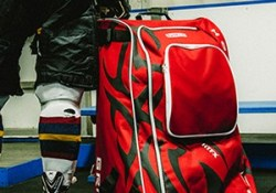 Sac de hockey Grit Tower Bag - Le sac en action