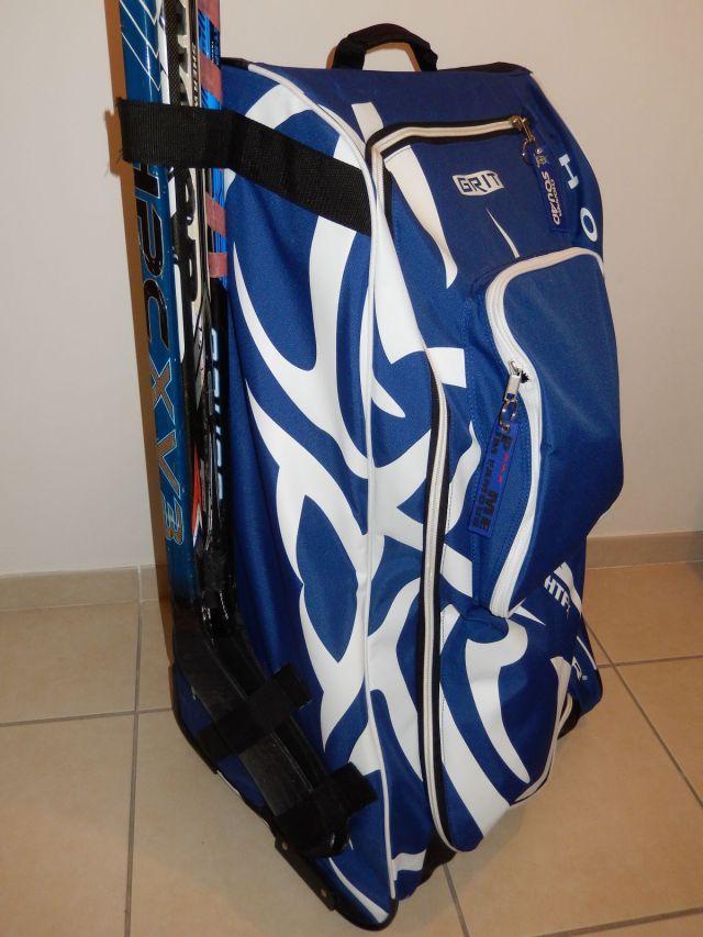 Sac de hockey Grit Tower Bag - Sangles de maintien des batons