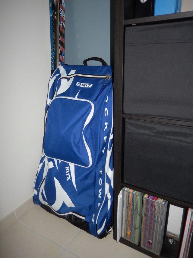 Sac de hockey Grit Tower Bag - Un vrai gain de place