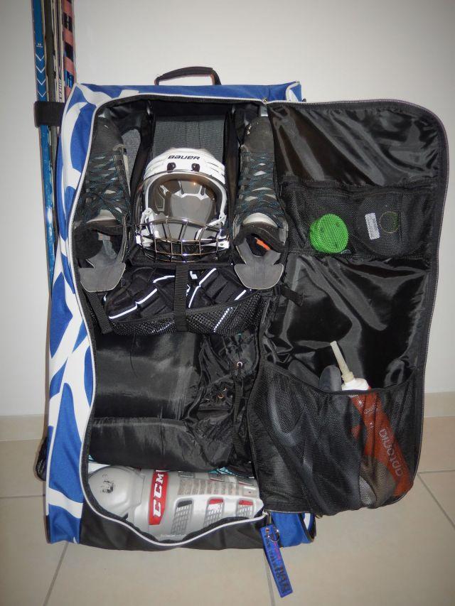 Sac de hockey Grit Tower Bag - Vue intérieure générale