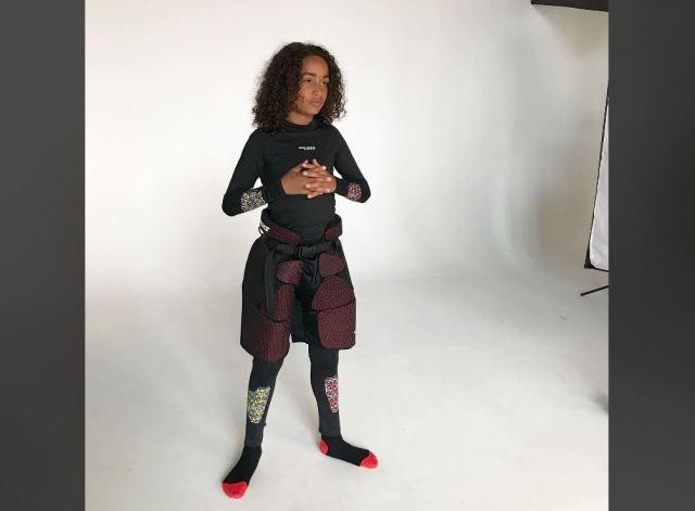 Shooting photo du futur sous-vêtement Oroks designé pour les enfants - Photo fournie par Oroks