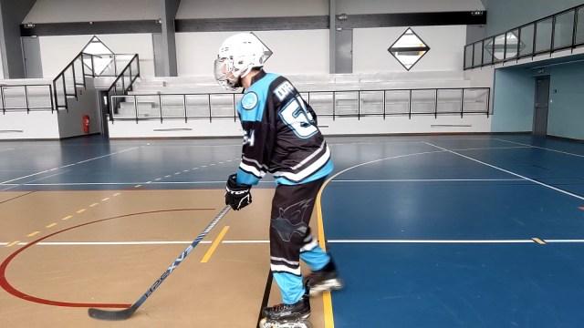 Virage, épaules et tranfert de poids - Replacement de la jambe intérieure au virage - Technique-Hockey